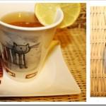 Przepis na herbatę odchudzającą. Zielona herbata z opuncją i cytryną.