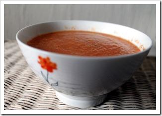 Zupa krem marchewkowo pomarańczowa
