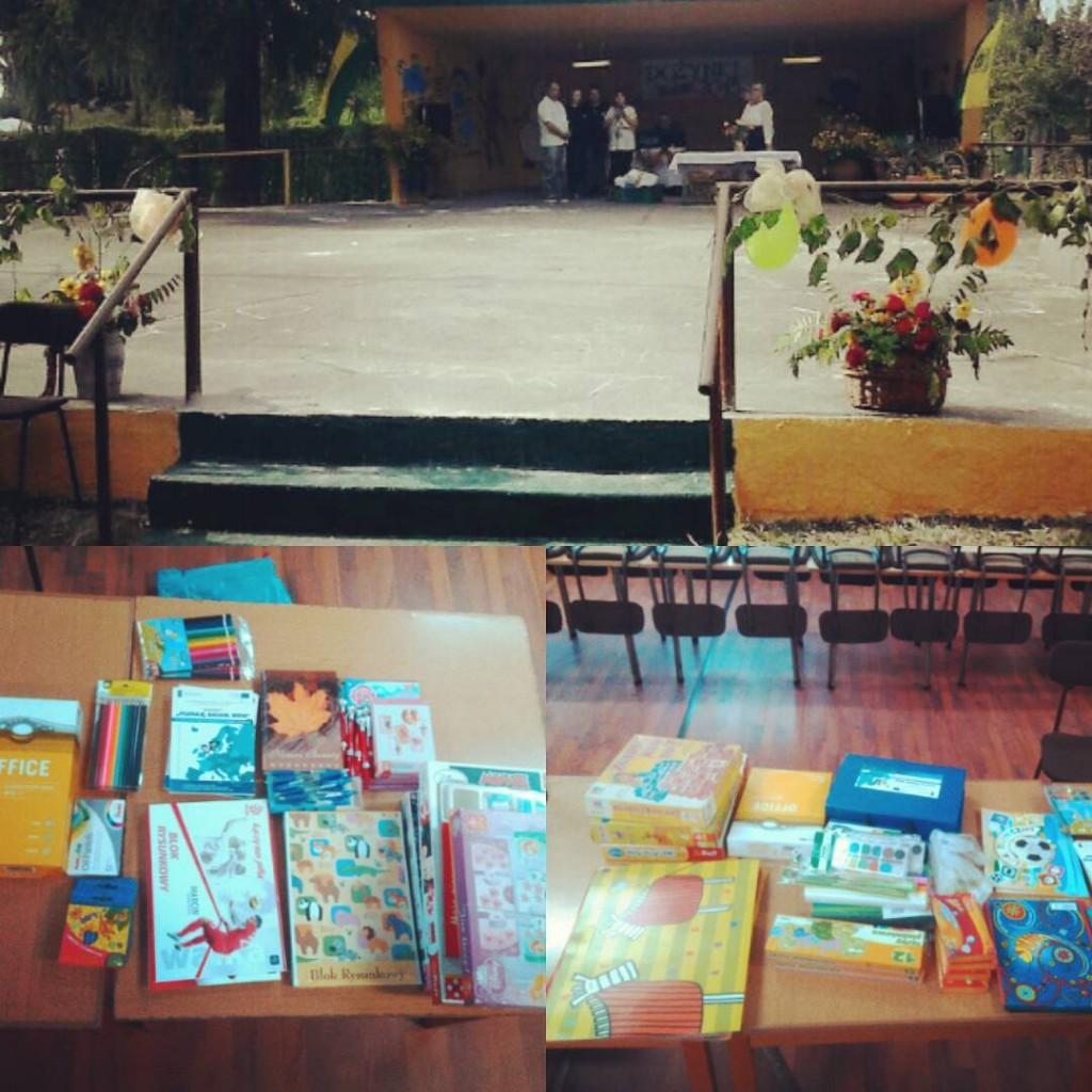 """Ostatnia sobota była szalona! Najpierw spotkanie blogerów w Sosnowcu, a później... oficjalne przekazanie pierwszych tegorocznych uzbieranych darów dla Fundacji Śląskiego Centrum Chorób Serca w Zabrzu i dla Stowarzyszenia Fenix/Świetlicy środowiskowej dla dzieci i młodzieży. Dobrymi duszyczkami okazał się nowy Zarząd R.O.D. """"Nasza Palma""""! A po wręczeniu niespodzianek bawiliśmy się całą rodzinką na Dożynkach organizowanych właśnie przez wspomniany Zarząd! #dożynki #zabrze #RODZabrzenaszapalma #naszapalma #naszadrogado #pomocdzieciom #blogerzydzieciom #blogerzydlaserc #fundacjaśląskiecentrumchoróbserca #stowarzyszeniefenix #pomagamy #dary #uśmiechdzieci #naszadrogado #szczęście"""