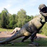 Maluszek wśród gigantów, czyli dziecko w Parku Dinozaurów