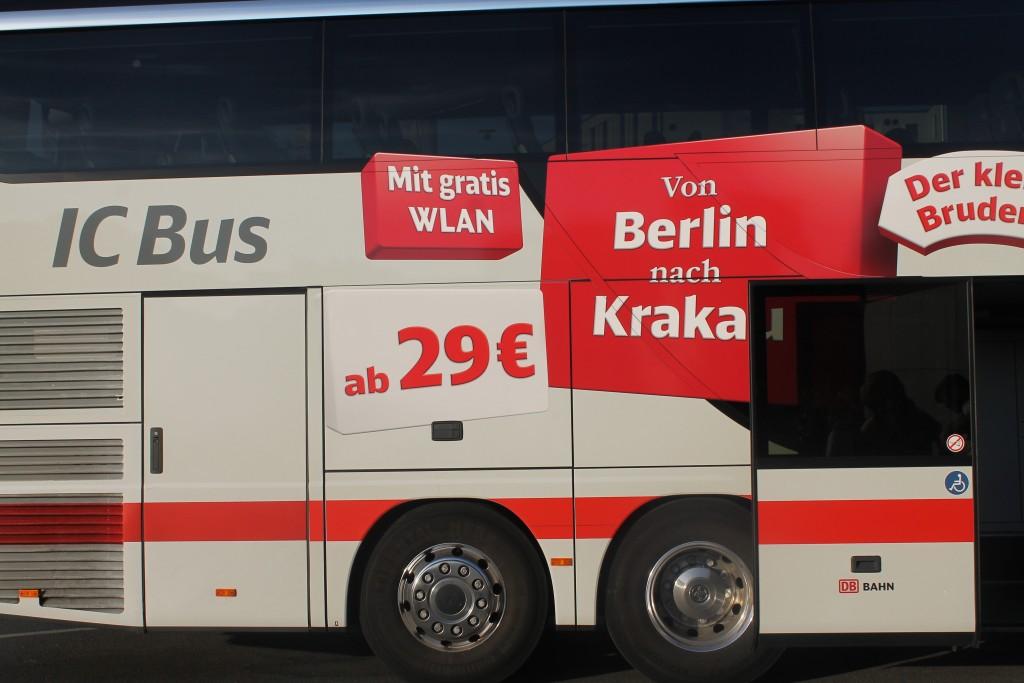 IC Bus z Krakowa do Berlina przez Gliwice i Wrocław - nasza droga do