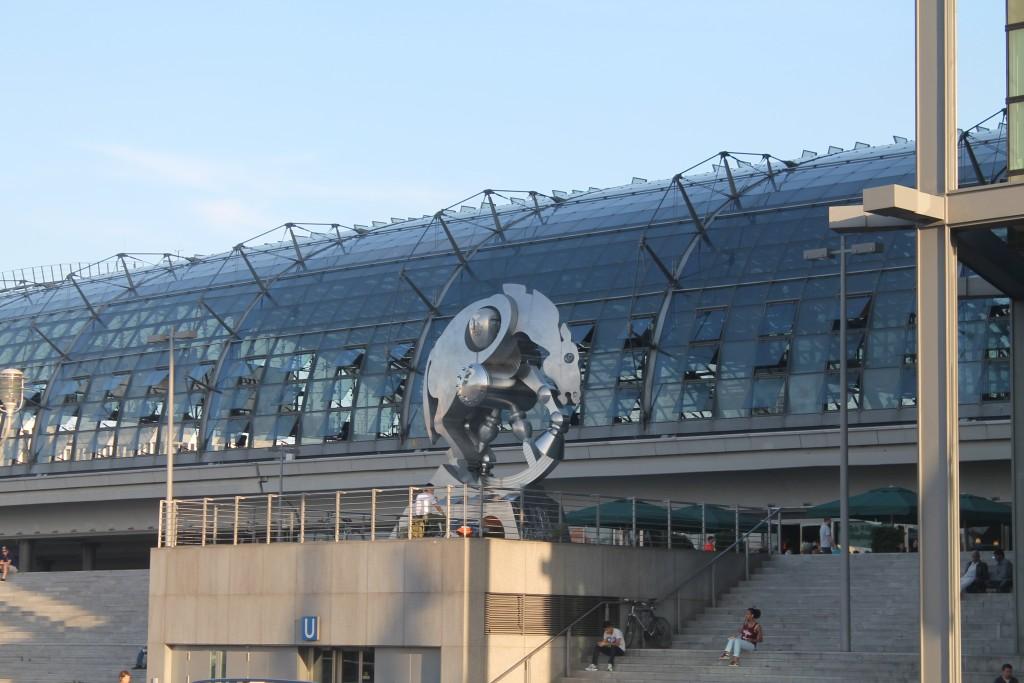 dworzec główny w Berlinie - nasza droga do
