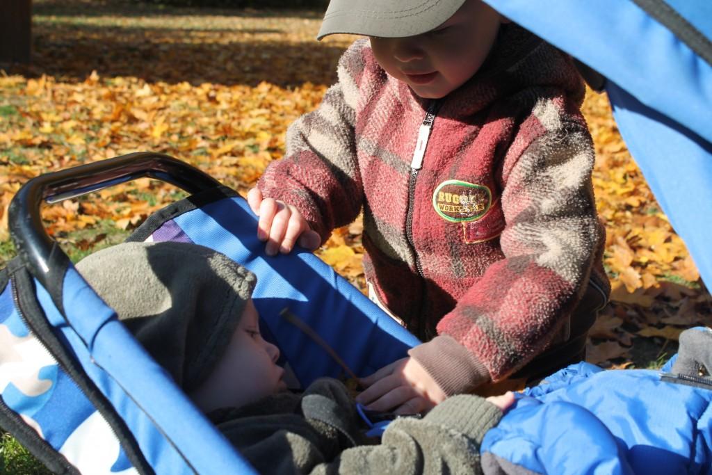 Park Śląski - jesień - nasza drroga do