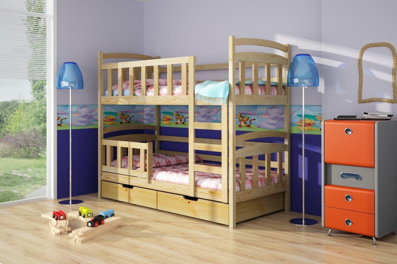 Czy piętrowe łóżko nadaje się dla dwulatka?
