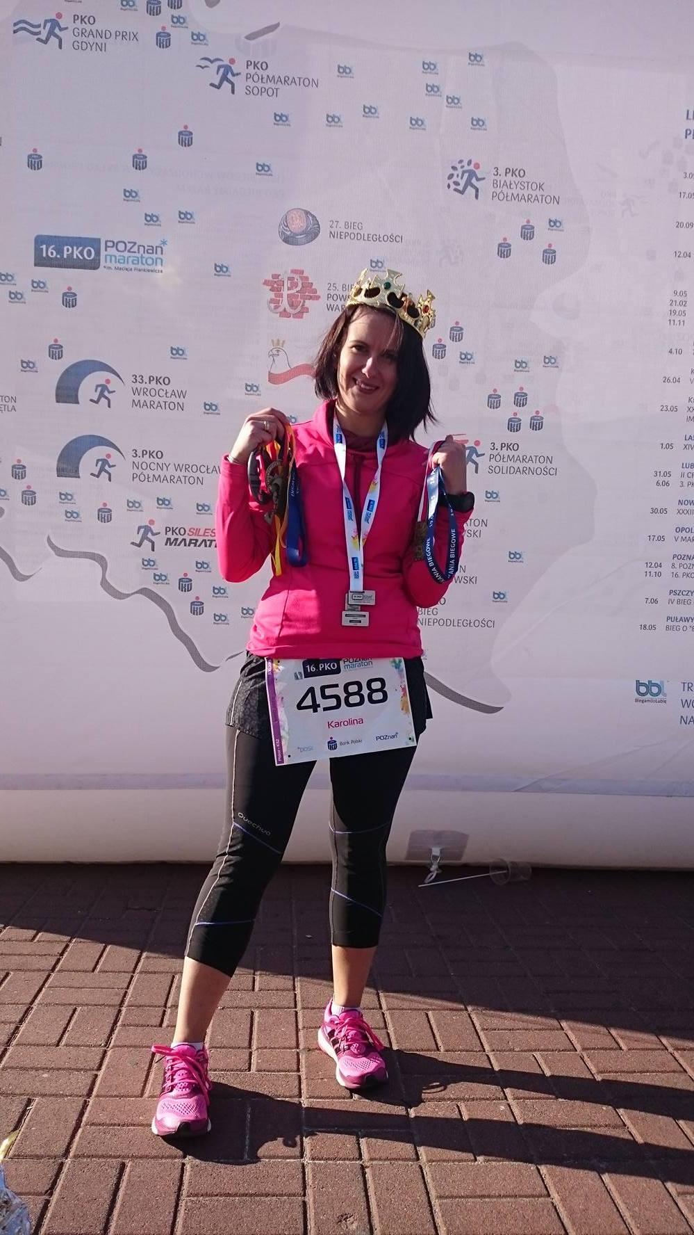 Zdobywca Korony Maratonów Polskich
