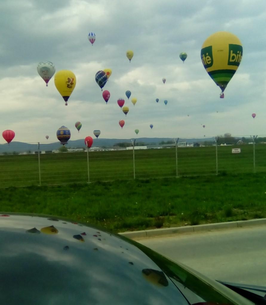 balony nad krosnem