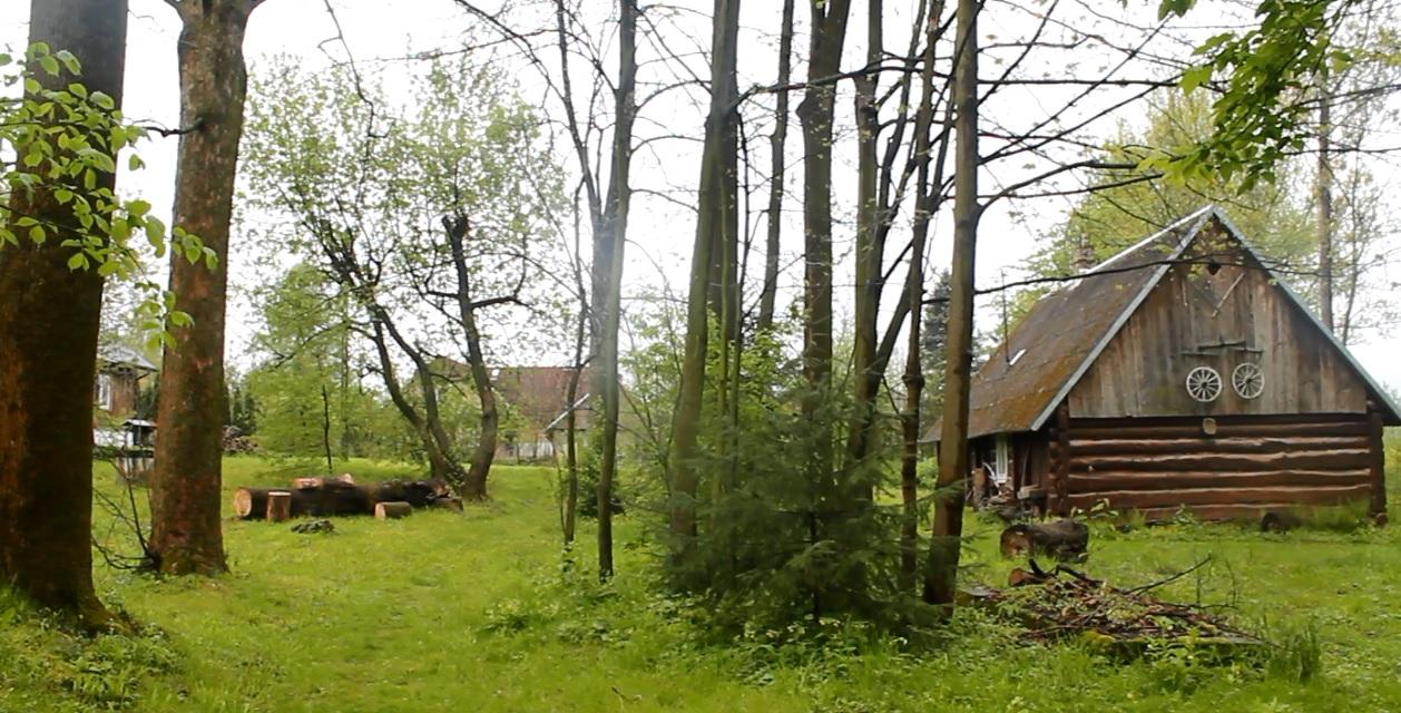 drewniane chaty