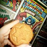 Ciasteczka à la Kapitan Ameryka
