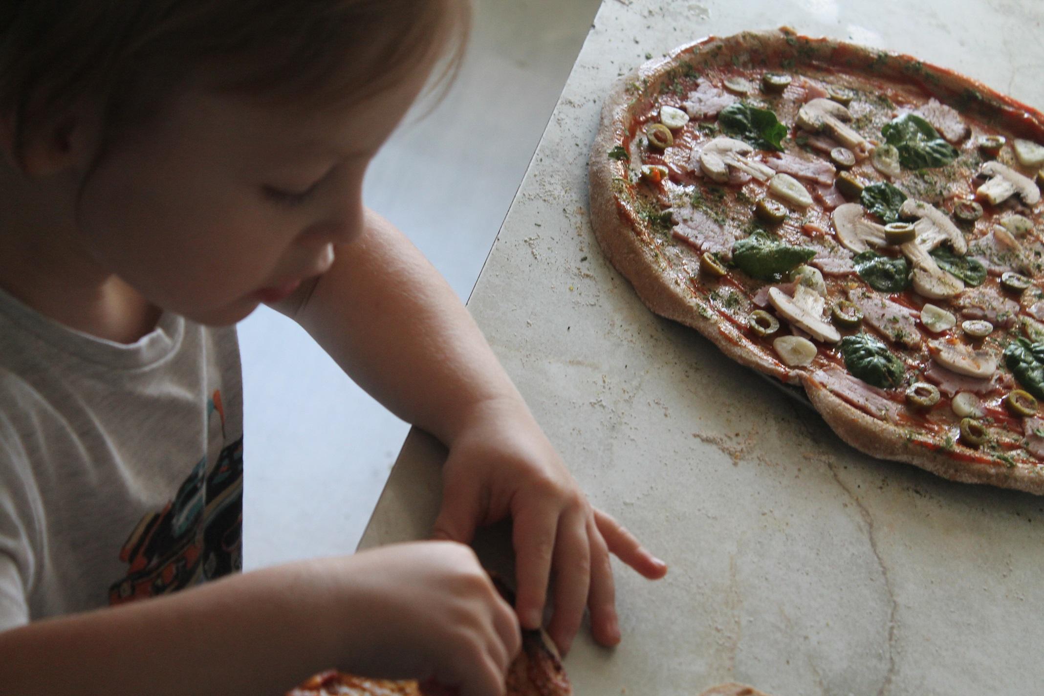 idealna pizza dla dzieci