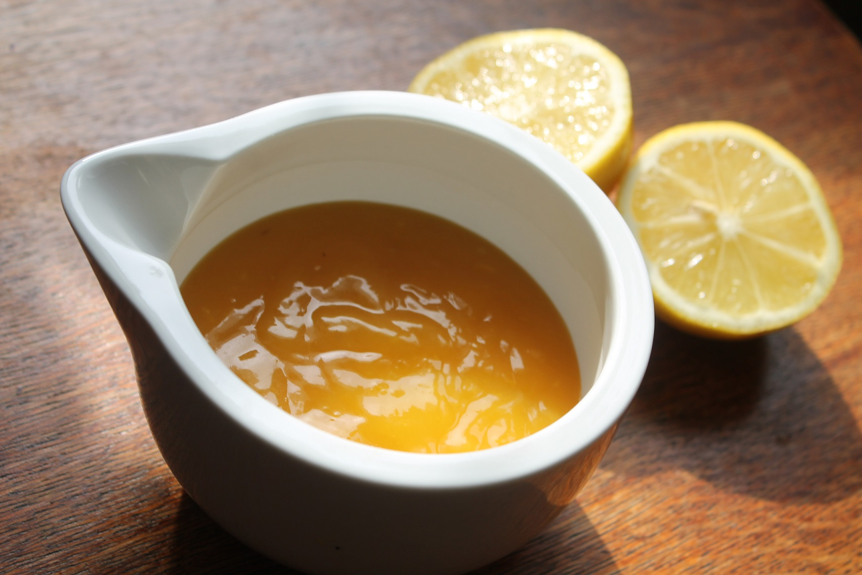 lemon curd na miodzie