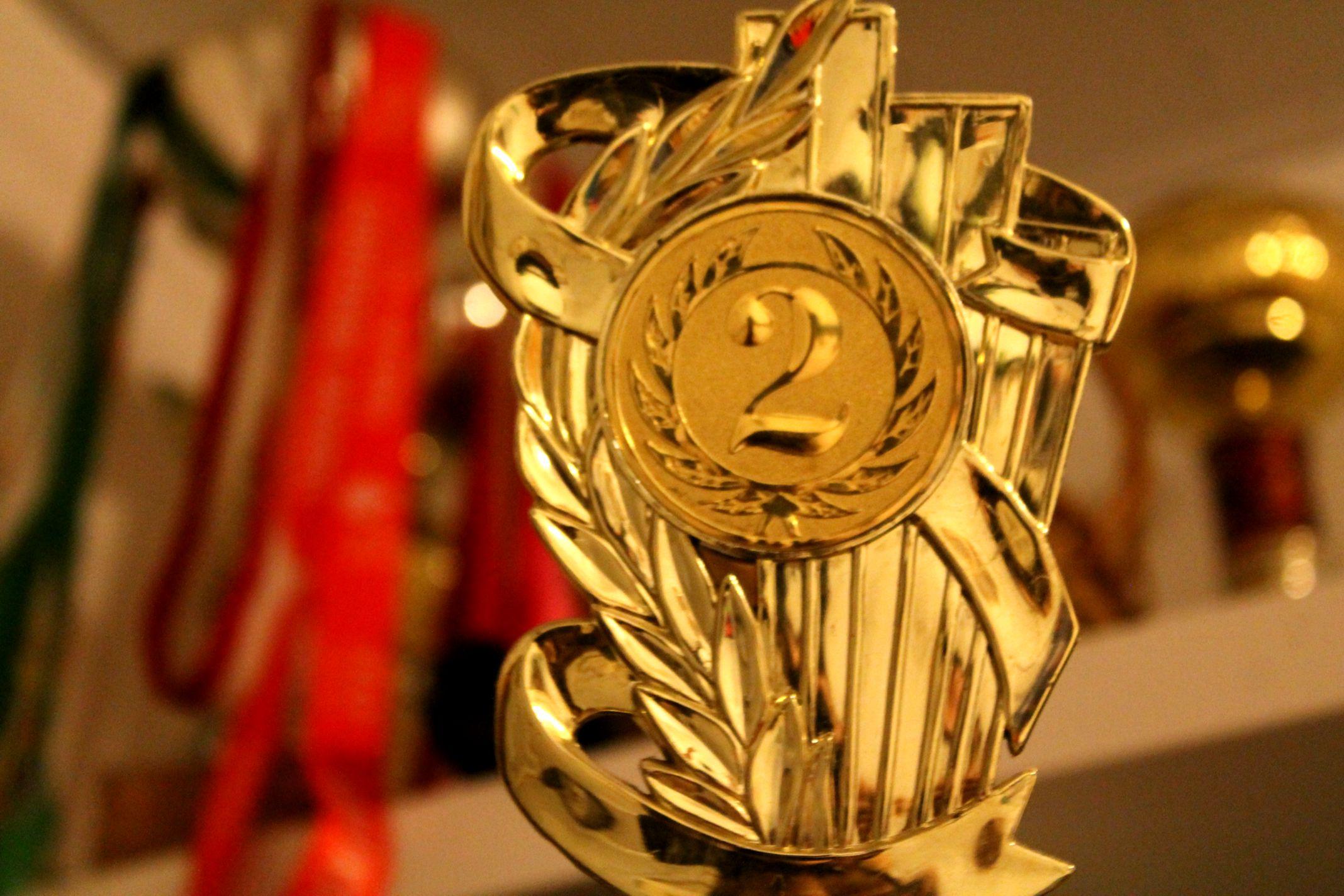 trofea sportowe zbierają dziś kurz