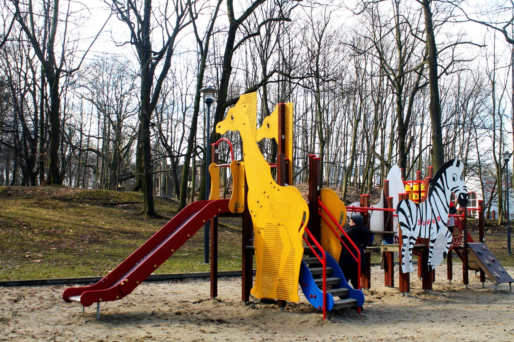 place zabaw na Śląsku