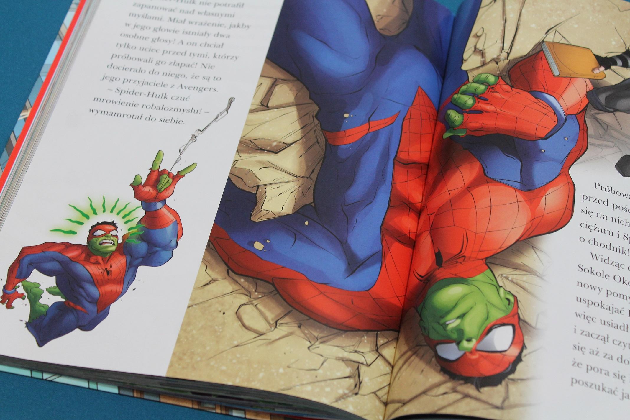 Spiderman książka