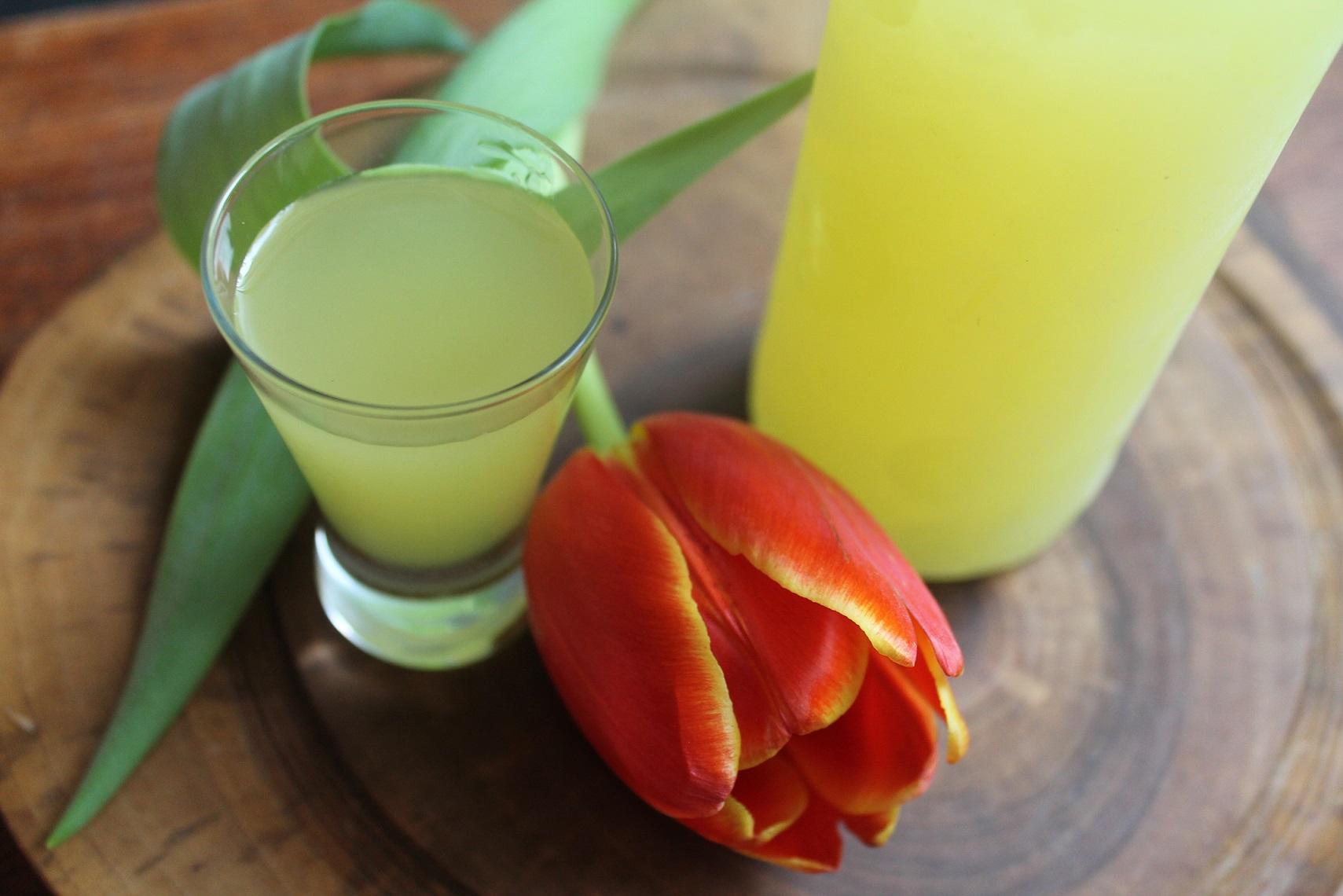 włoski likier cytrynowy domowej roboty