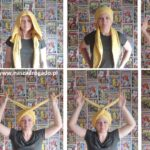 Jak uszyć turban na włosy?  DIY / Zrób to sam