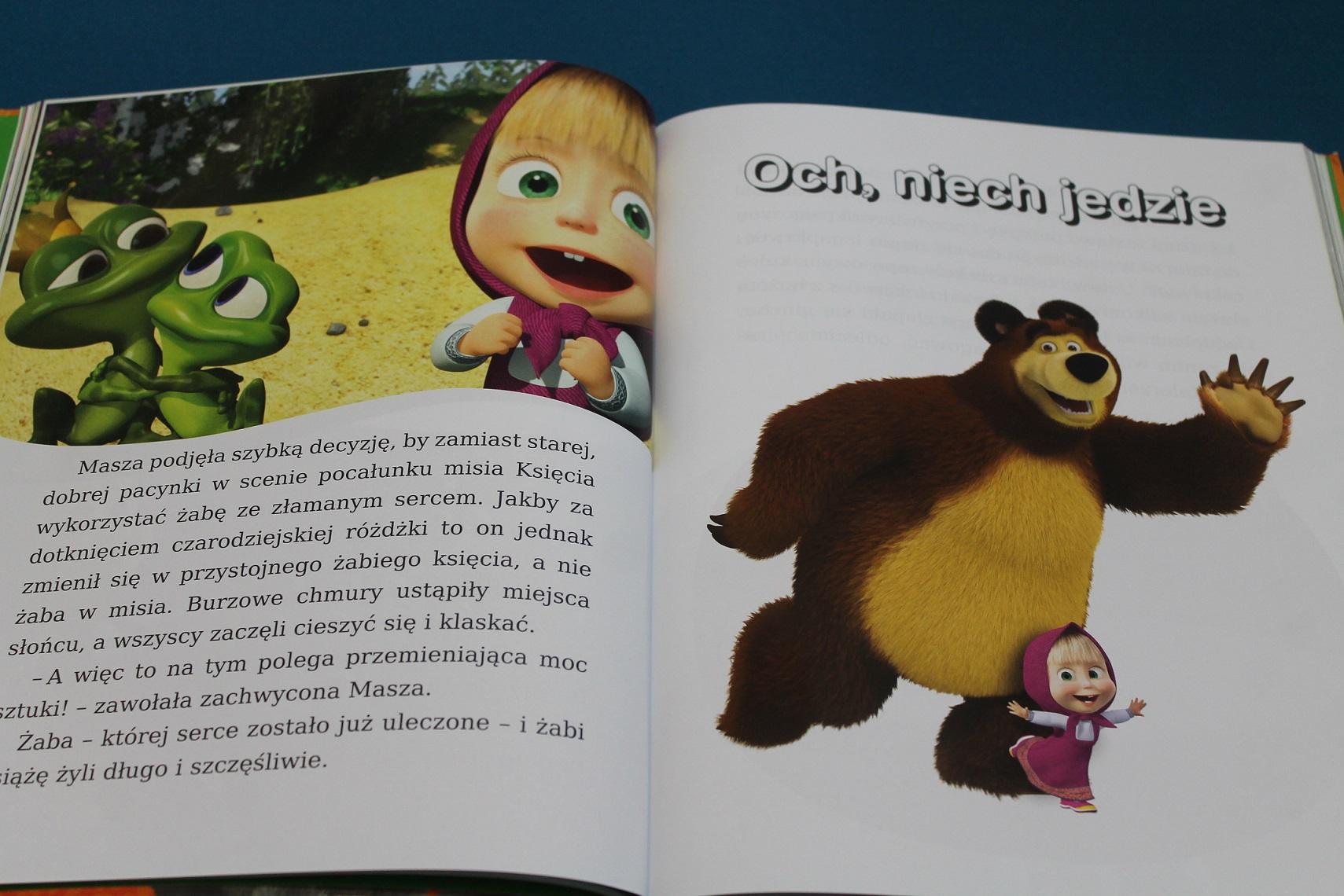 Masza i Niedźwiedź książka