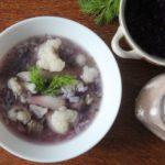 Zupa z kapustą czerwoną