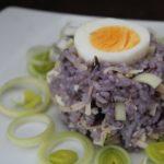 Przepis na potrawę z ryżem fioletowym