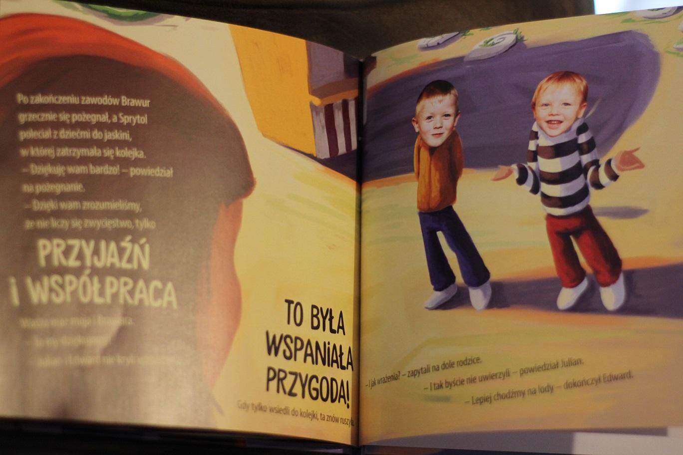 książka dla dzieci z dziećmi