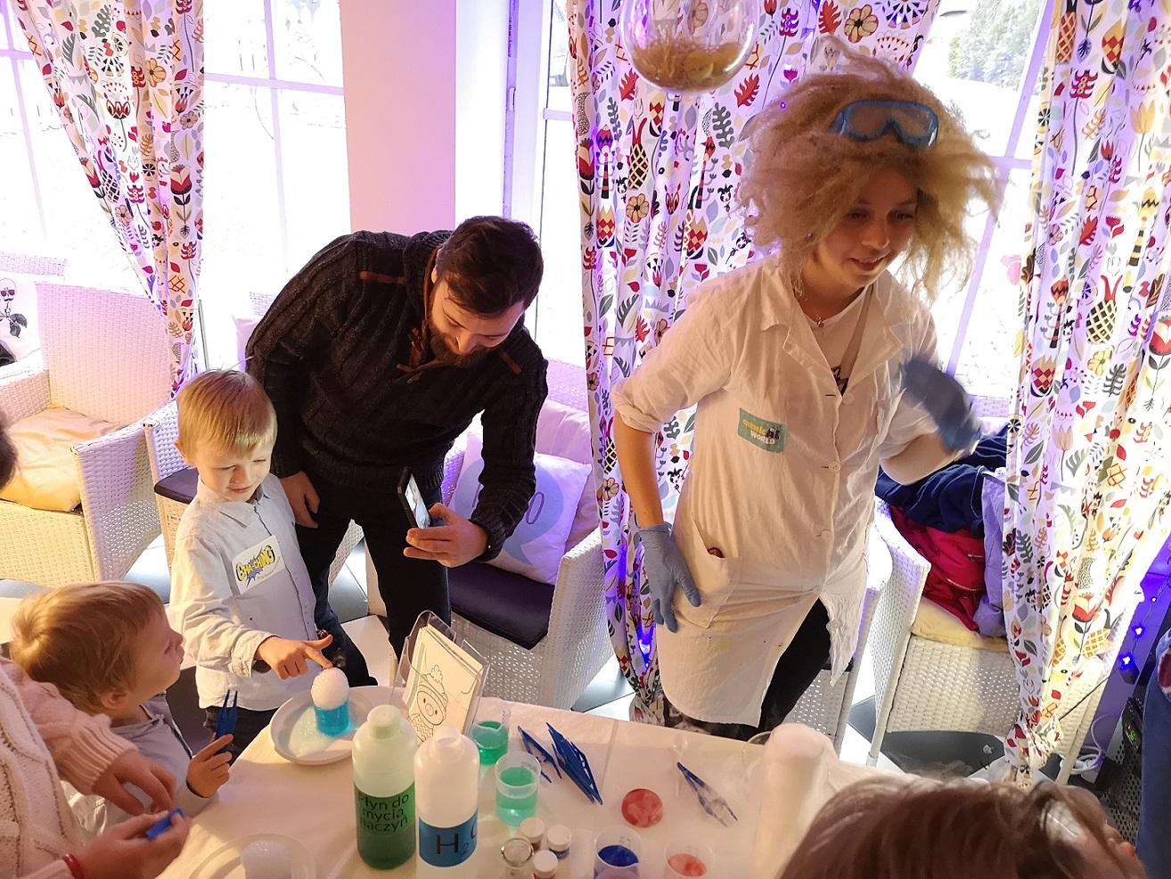 warsztaty chemiczne dla dzieci