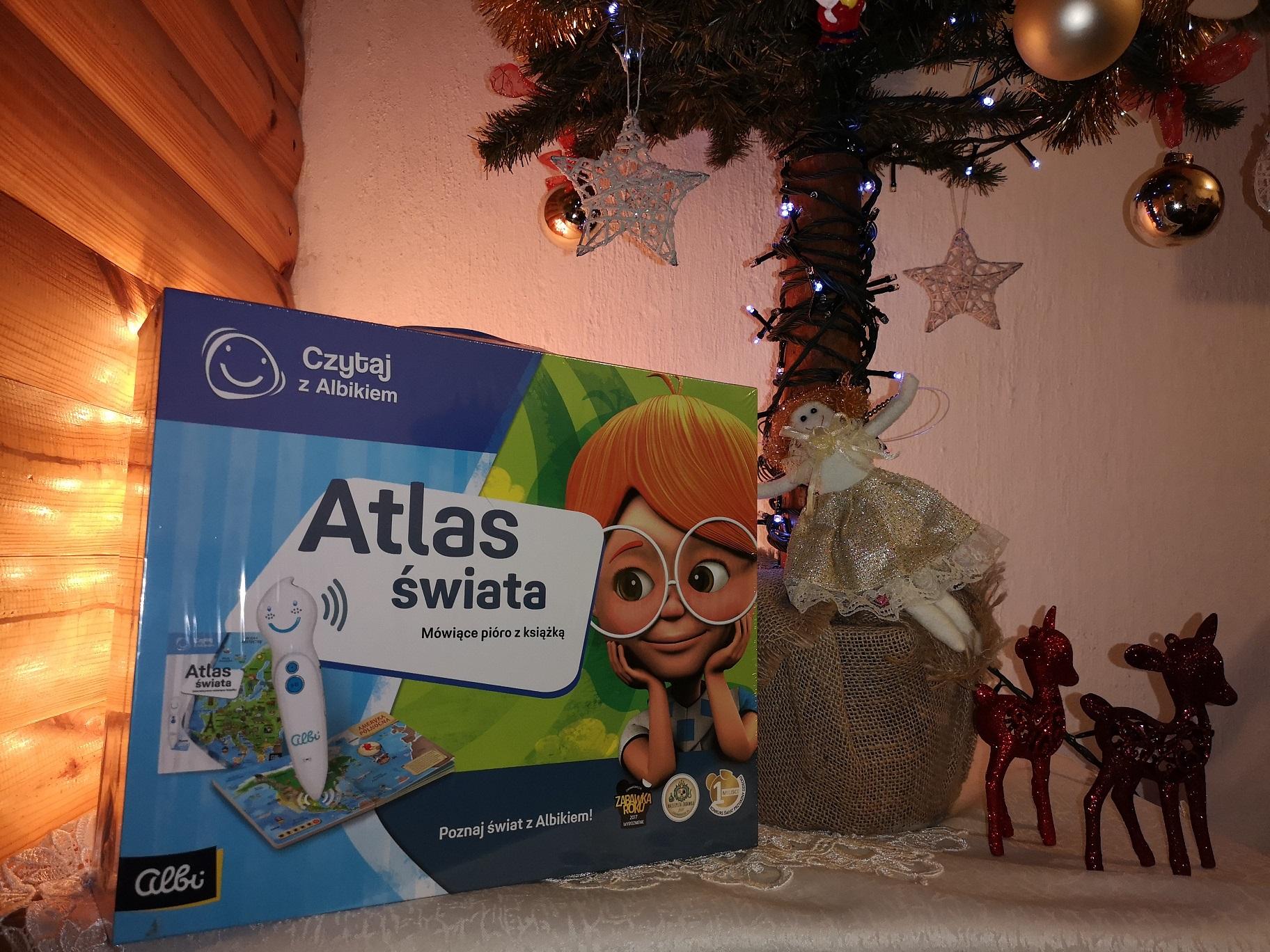 atlas śwoata dla dzieci