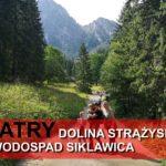 Tatry z dziećmi. Wodospad Siklawica.