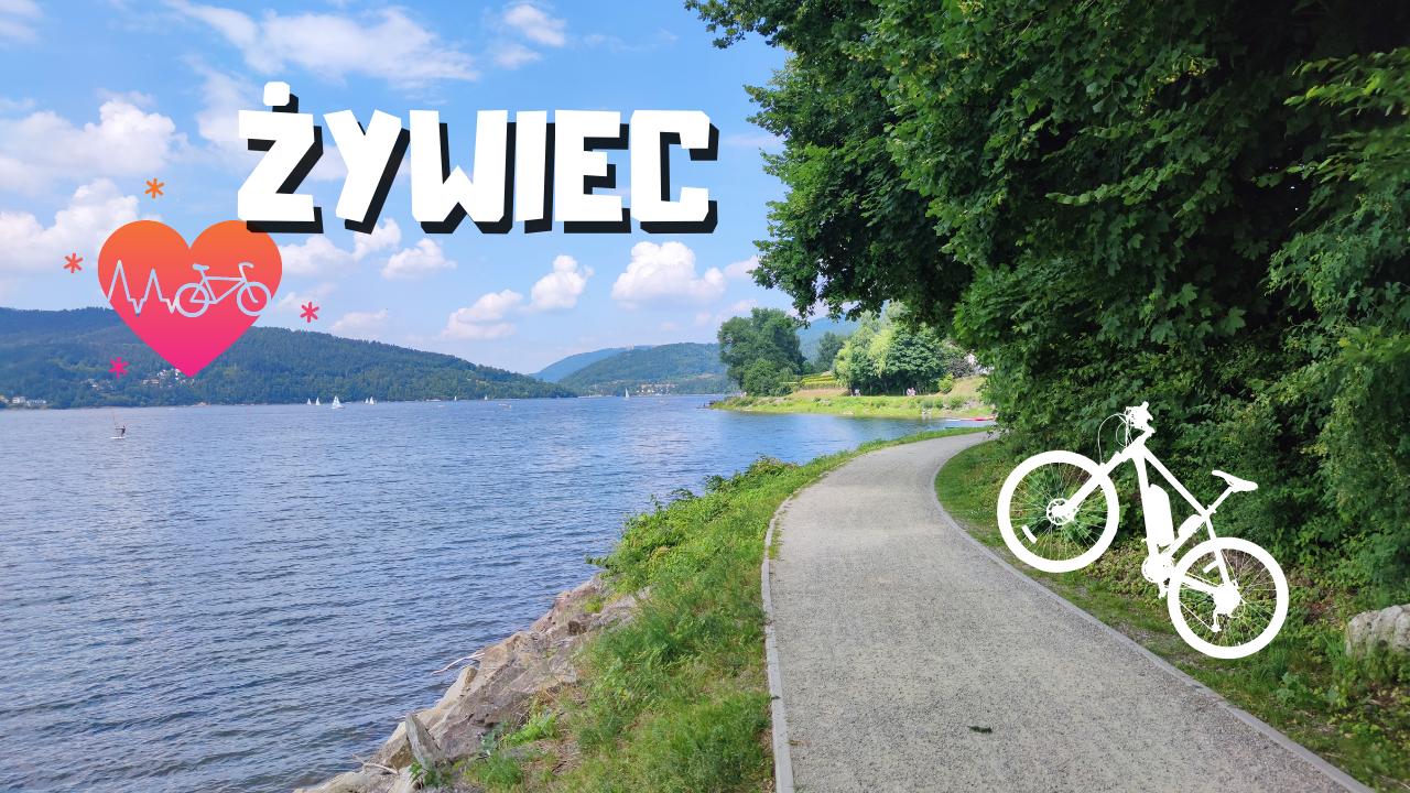 trasa rowerowa jezioro żywieckie