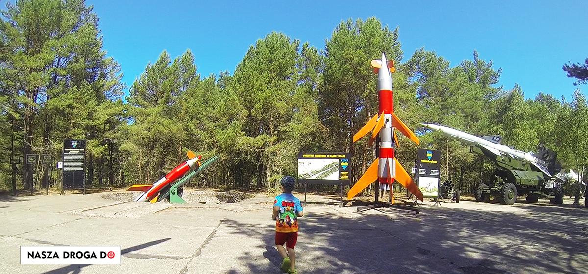 Wyrzutnia rakiet wydmy Łeba
